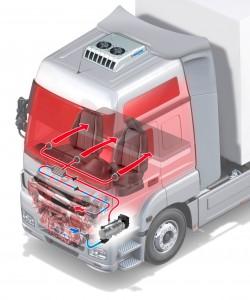 Webasto на грузовых автомобилях